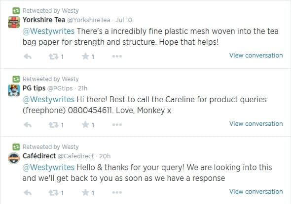 Plastic Teabags Twitter