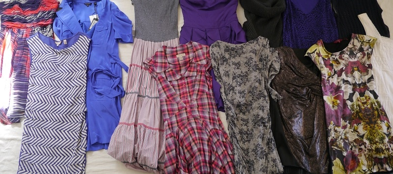 Dresses decluttering