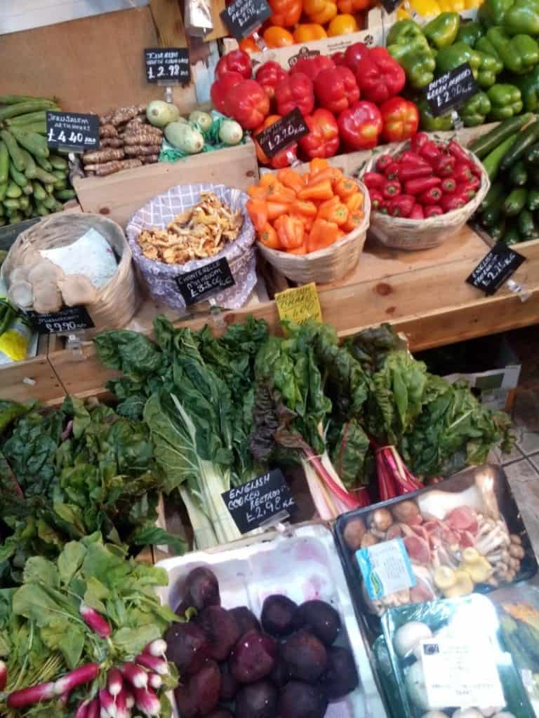 Packaging Free Fruit and Veg London