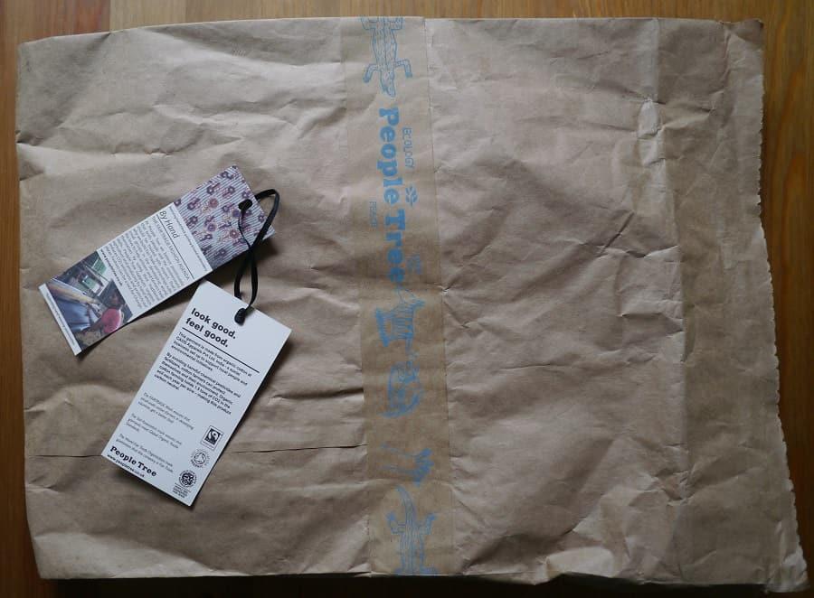 People Tree Paper Packaging