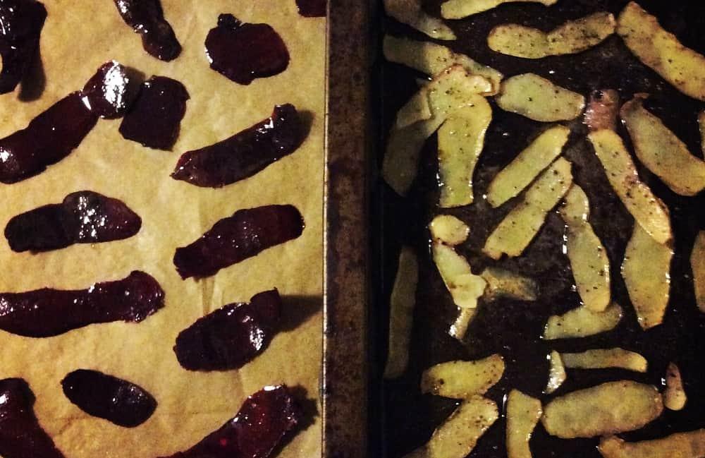 Zero Waste Week Making Crisps from Vegetable Peels