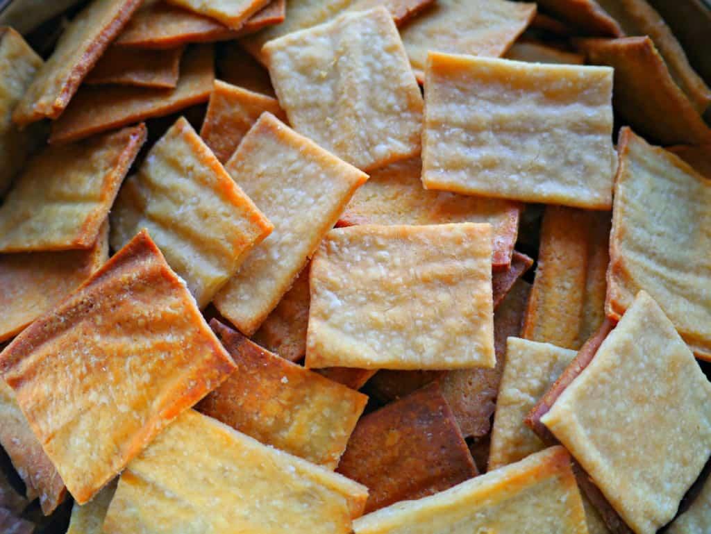 Sourdough Crackers Treading My Own Path