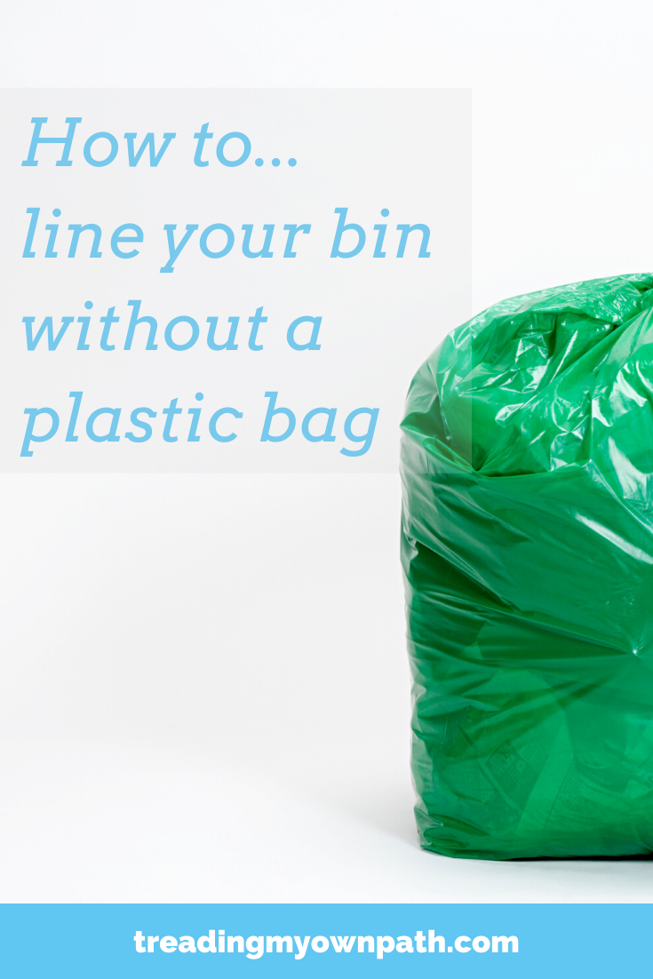 How to…Line your Rubbish Bin without a Plastic Bag