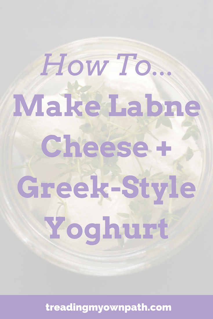 How to Make Labne (Cheese) and Greek-style Yoghurt