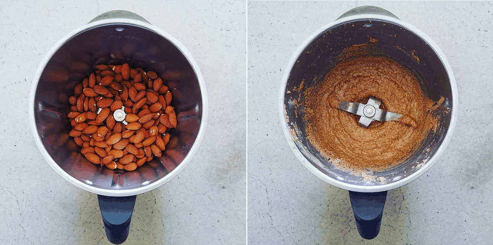 Making Almond Nut Butter (A Recipe)