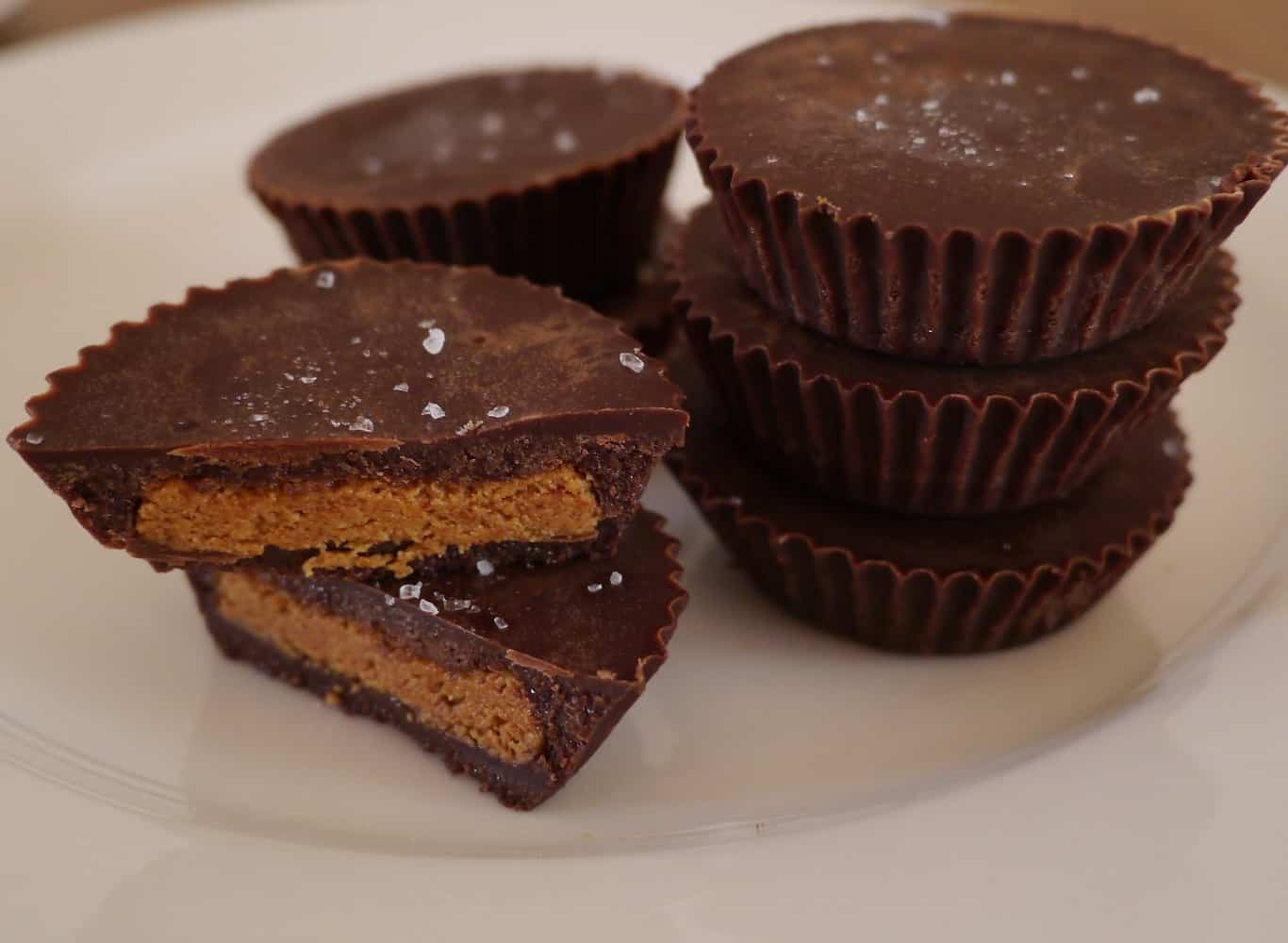 Raw Chocolate Nut Butter Cups | Treading My Own Path ...