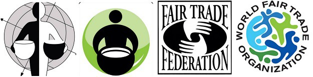 Different Fairtrade logos