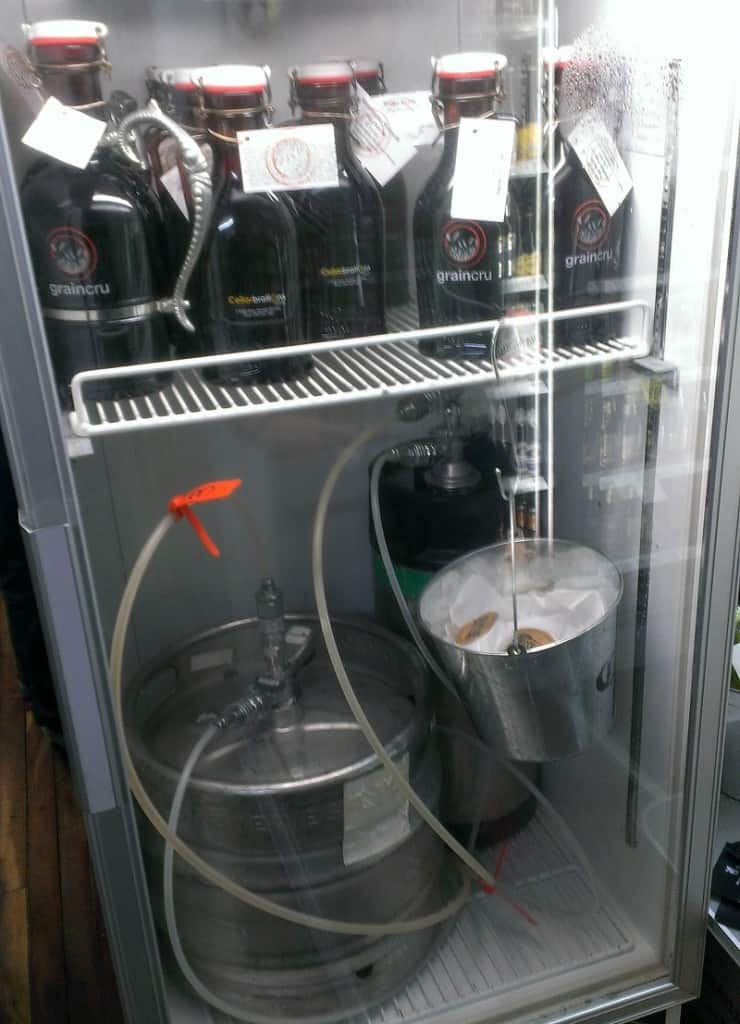 Beer Fridge Side