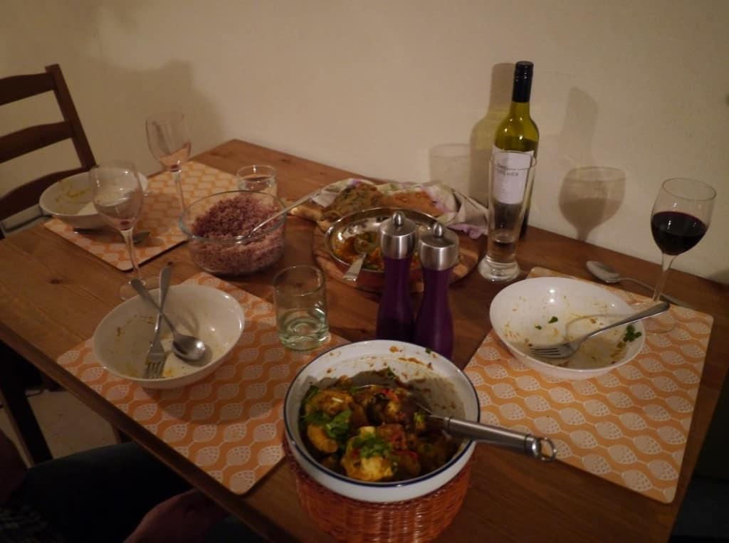 Friend for Dinner