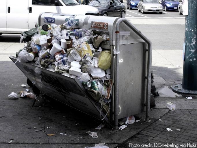 Open Trash by DGriebeling via Flickr