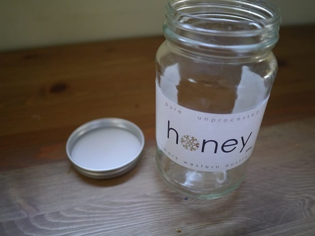 Zeo Waste Week empty Jar