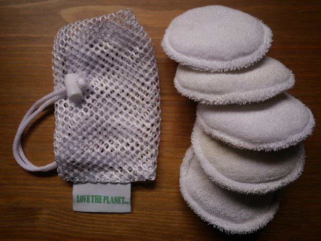 reusable cloth pads for removing makeup