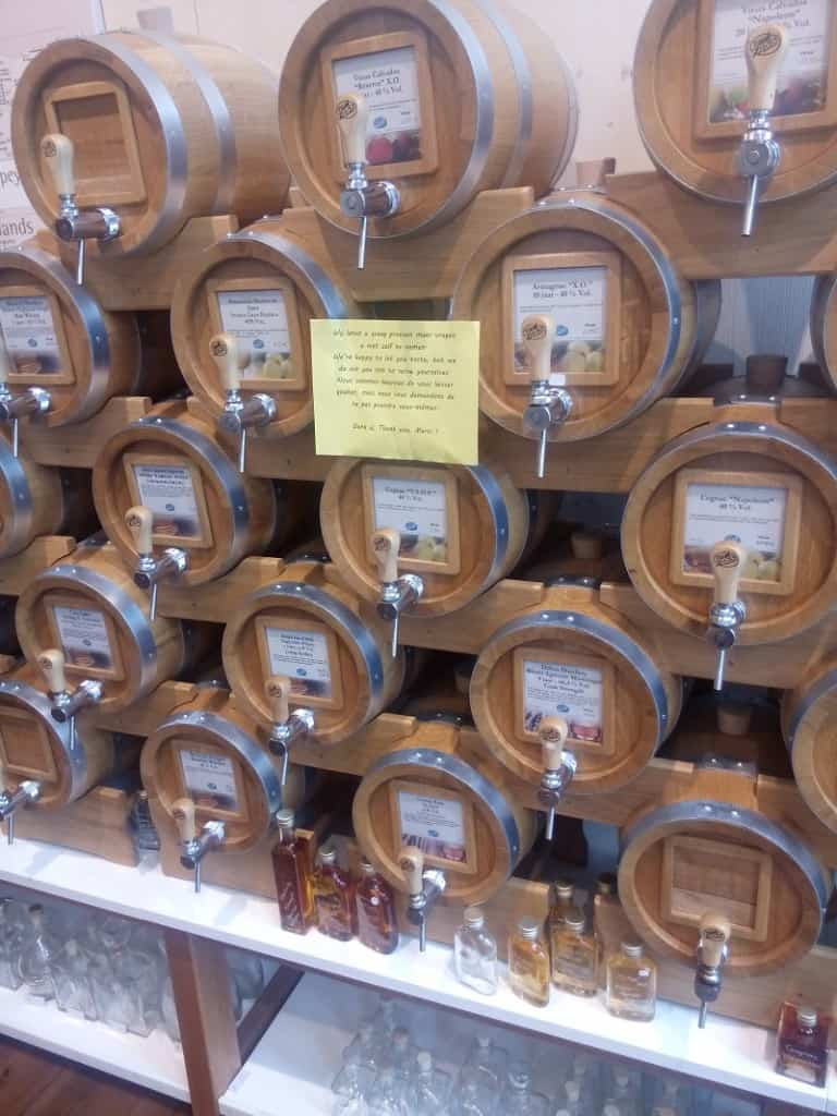 Bruges bulk vinegar store