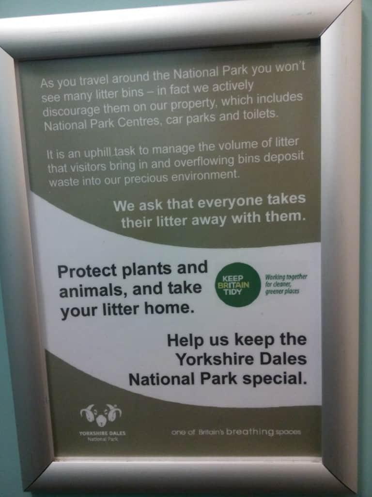 Yorkshire Dales National Park waste management