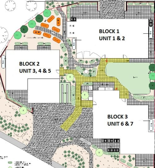 Green Swing Site Plan