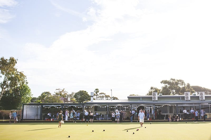 Wedding Reception at Mosman Park Bowling Club