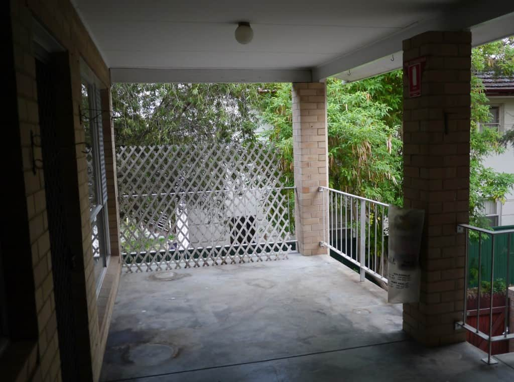 Concrete Balcony
