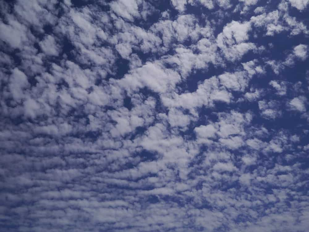 Fluffy Clouds in Esperance WA