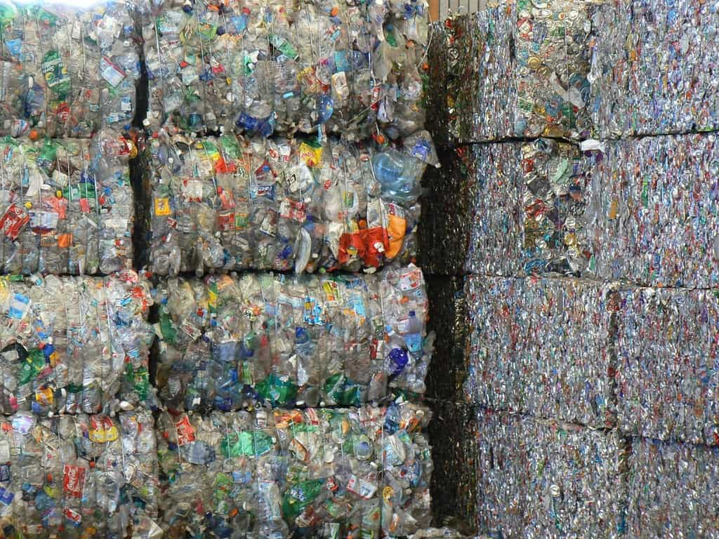 Bales of Recyclables Walter Parenteau via Flickr