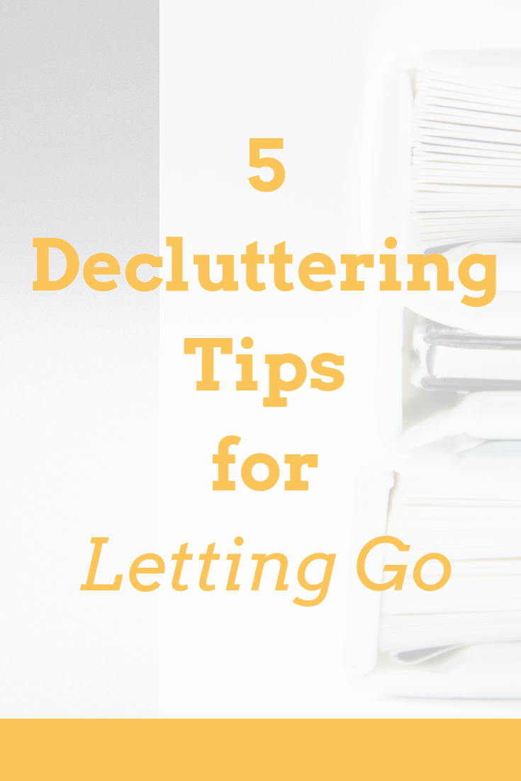 Decluttering can be hard, especially if you\'re a natural hoarder, not a minimalist. But keeping stuff you don\'t need serves no purpose. Simplify. Here\'s some tips to let that clutter go.