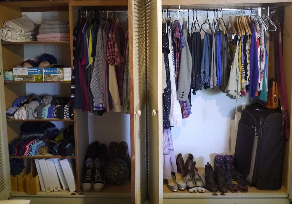 Decluttered Wardrobe October 2015