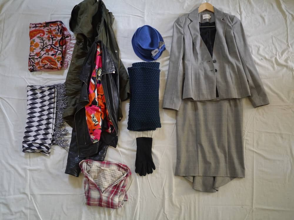 Final Bits and Pieces Wardrobe Decluttering Minimalism October 2015