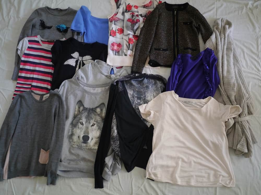 Jumpers Decluttering Wardrobe Minimalism October 2015