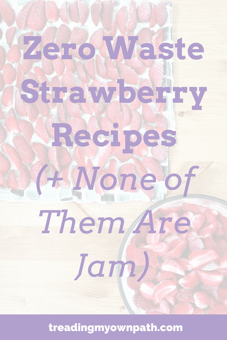 Zero Waste Strawberry Recipes (And None of Them Are Jam)