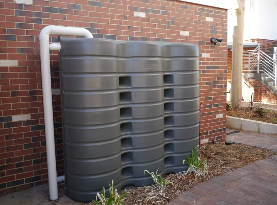 Rainwater Tank 3000L Green Swing