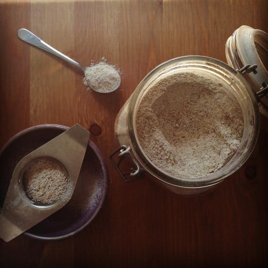 Rye Flour Shampoo Zero Waste Treading My Own Path