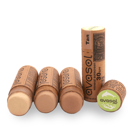 Avasol Plastic-Free Sunscreen