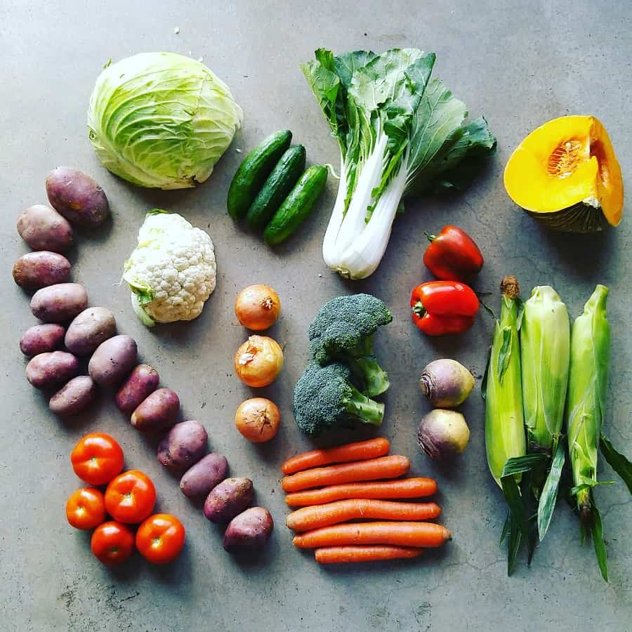Zero Waste Vegetables Plastic Free July Treading My Own Path