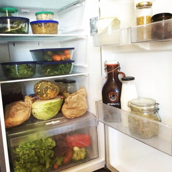 Zero Waste Plastic Free Fridge