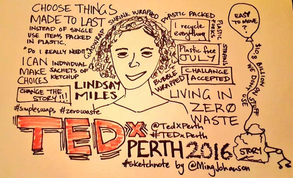 Changing the Story: Talking Rubbish on the Tedx Stage
