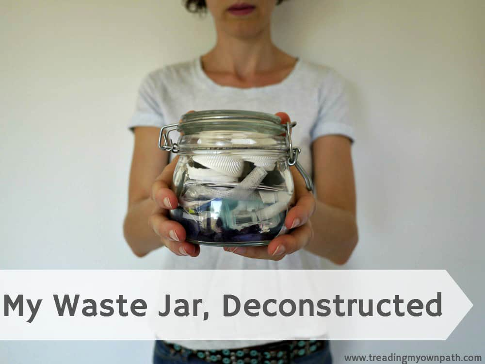 My Annual Waste Jar, Deconstructed (+ Lessons Learned)