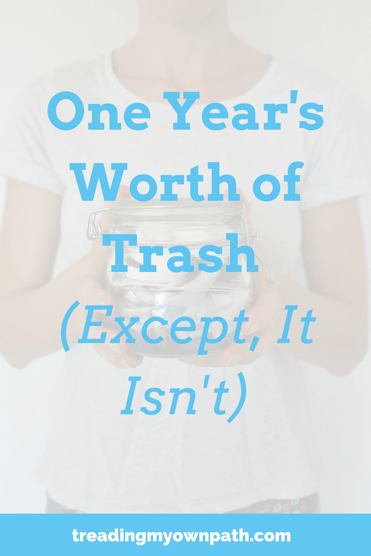 One Year\'s Worth of Trash (Except, It Isn\'t)