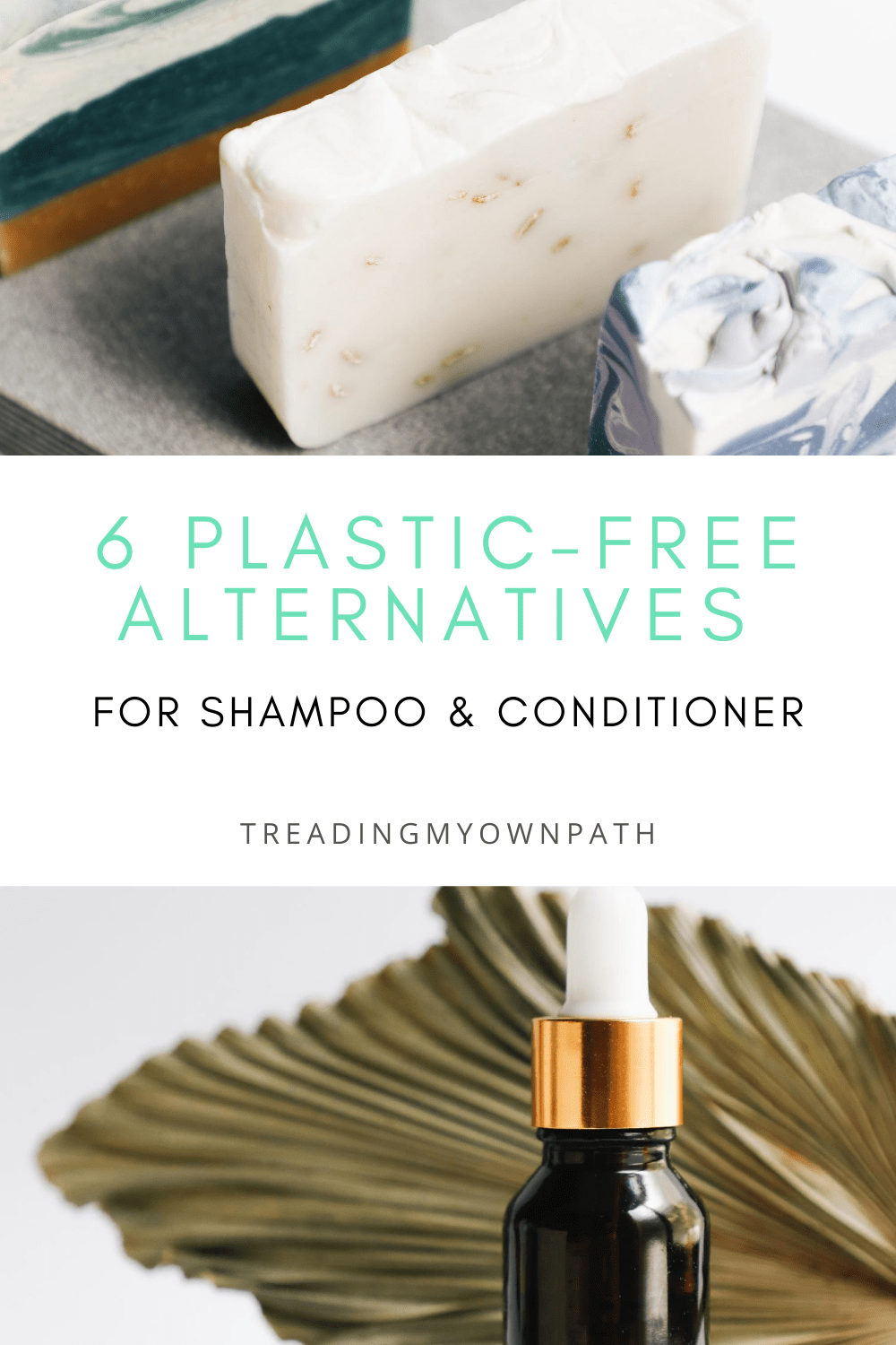 6 Plastic-Free Alternatives for Shampoo and Conditioner