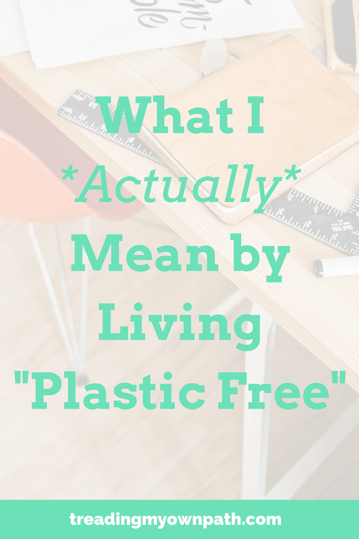 "What I *Actually* Mean By Living ""Plastic Free"" from Treading My Own Path 