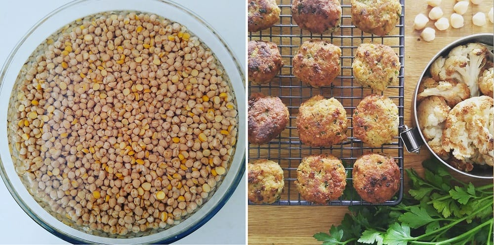 Zero Waste Kitchen: DIY Chickpea Falafels Recipe