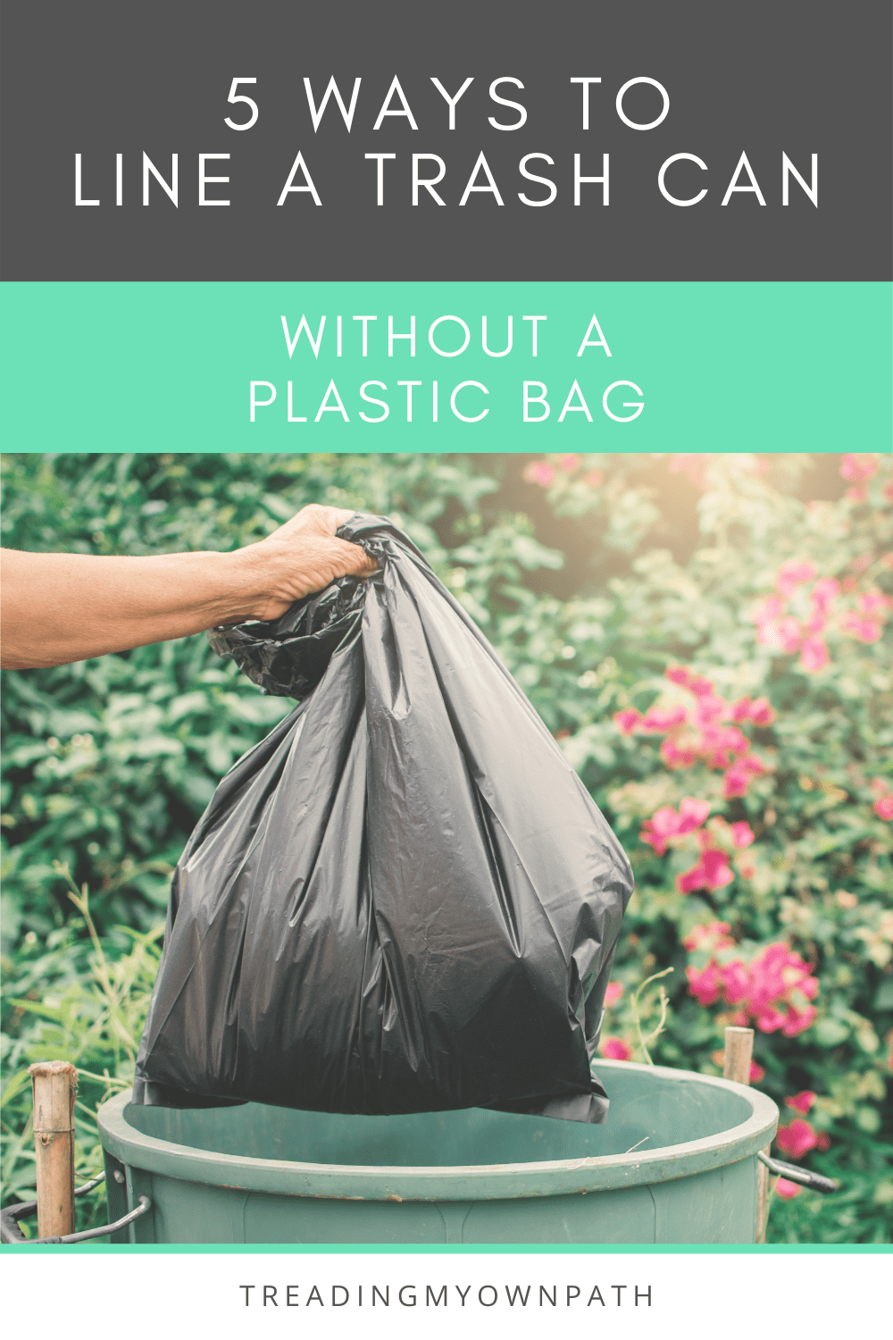 5 Ways to Line a Bin without Plastic Bags