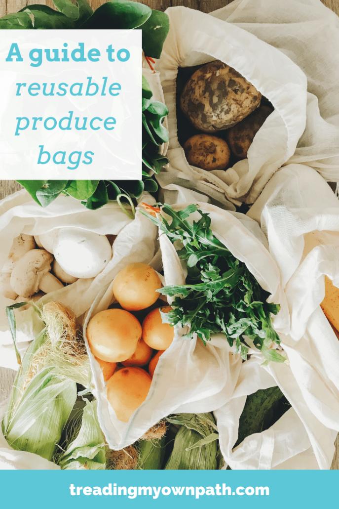 Bulk bag zero waste vegetable bag