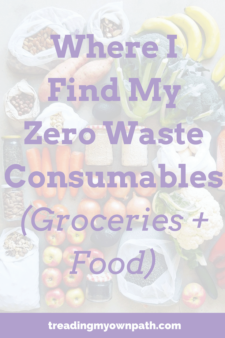 Zero waste shopping: plastic-free groceries, bulk food stores, bulk food shopping, packaging free, pass on plastic, break free from plastic, plastic-free shopping, zero waste stores, waste free grocery shopping ideas. https://treadingmyownpath.com