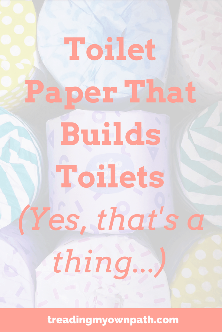 Toilet Paper That Builds Toilets? Yes, that's a Thing…
