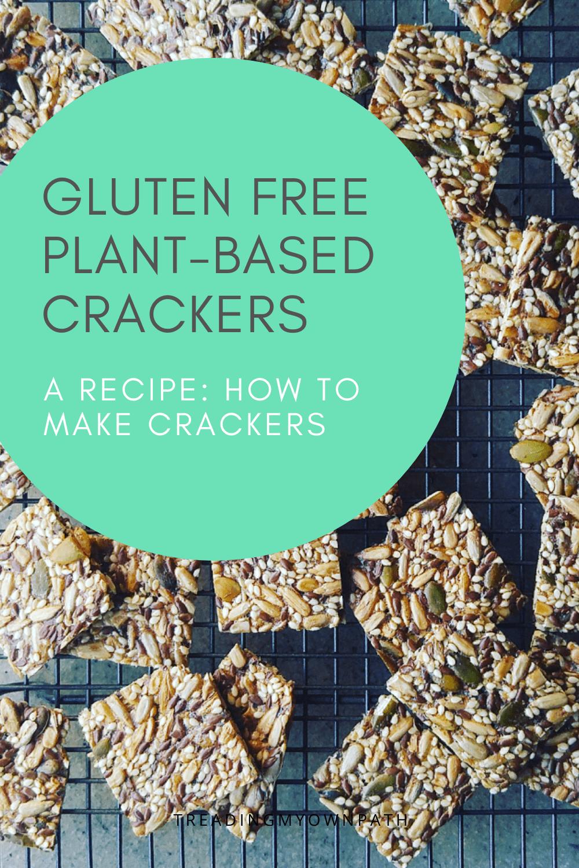 Recipe: how to make (plastic free + zero waste) seed crackers