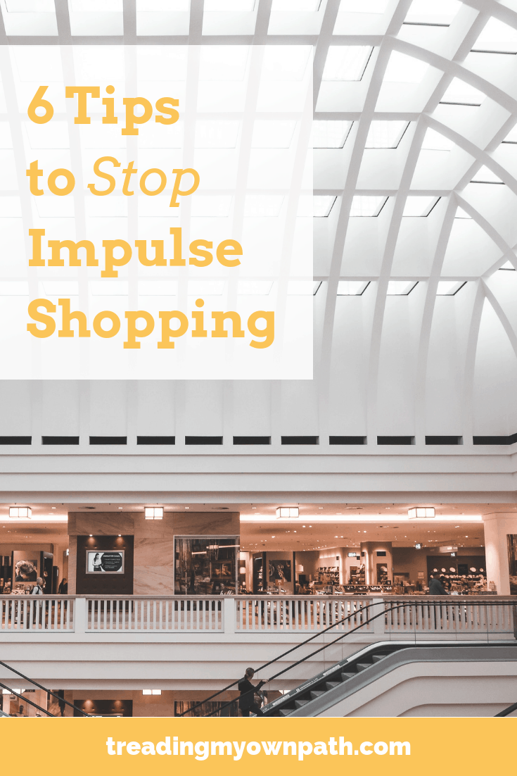 6 Tips to Stop Impulse Buying