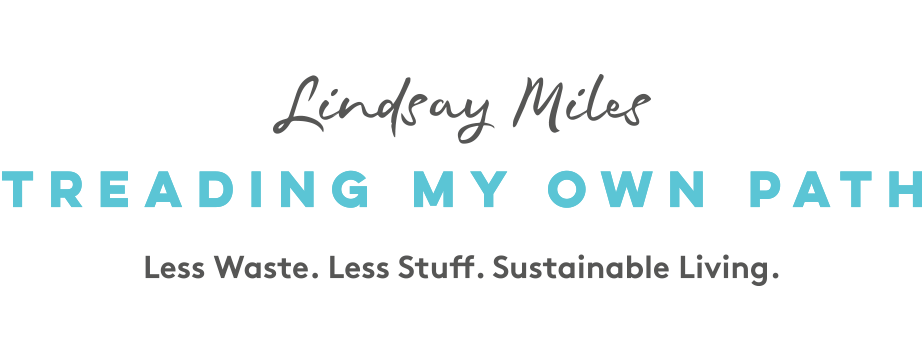 Treading My Own Path | Less waste, less stuff, sustainable living