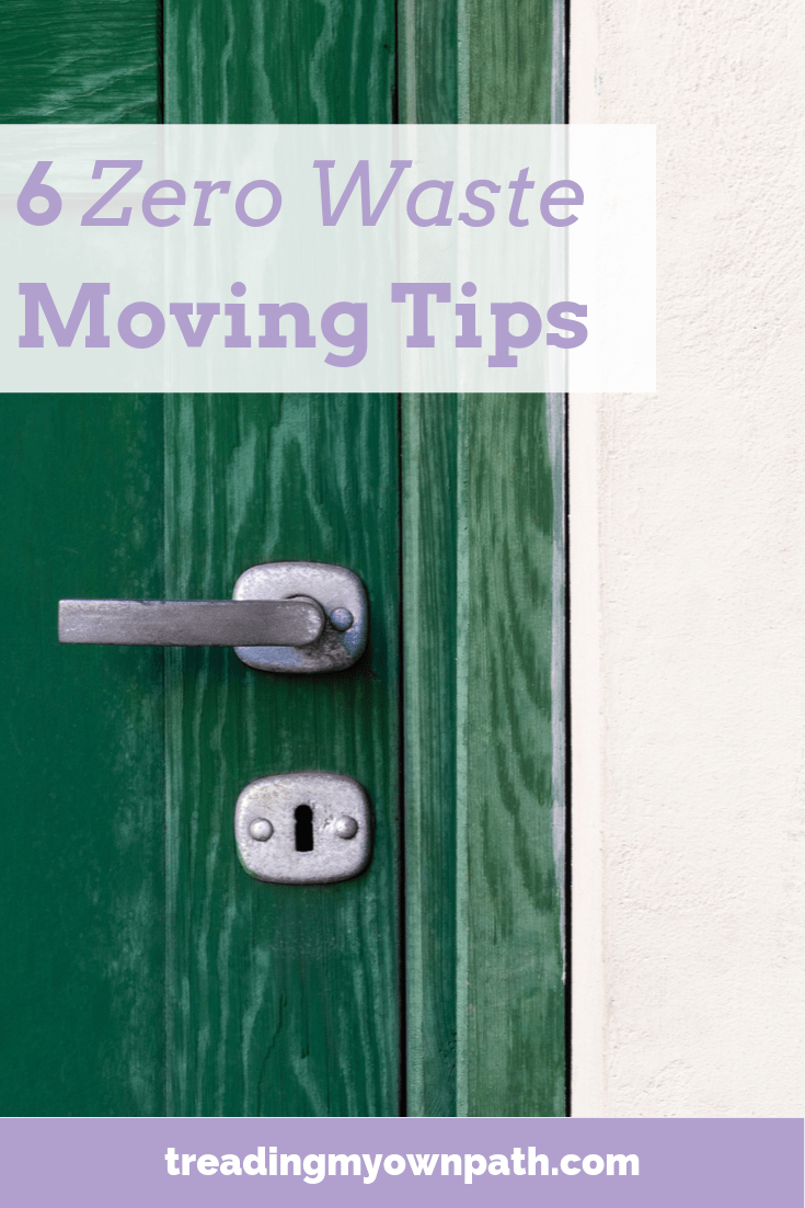 6 Zero Waste Tips for Moving House