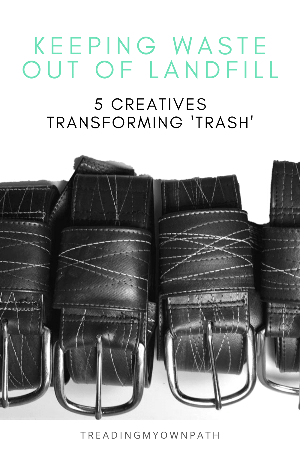 Keeping waste out of landfill: 5 creatives transforming \'trash\' into useful stuff