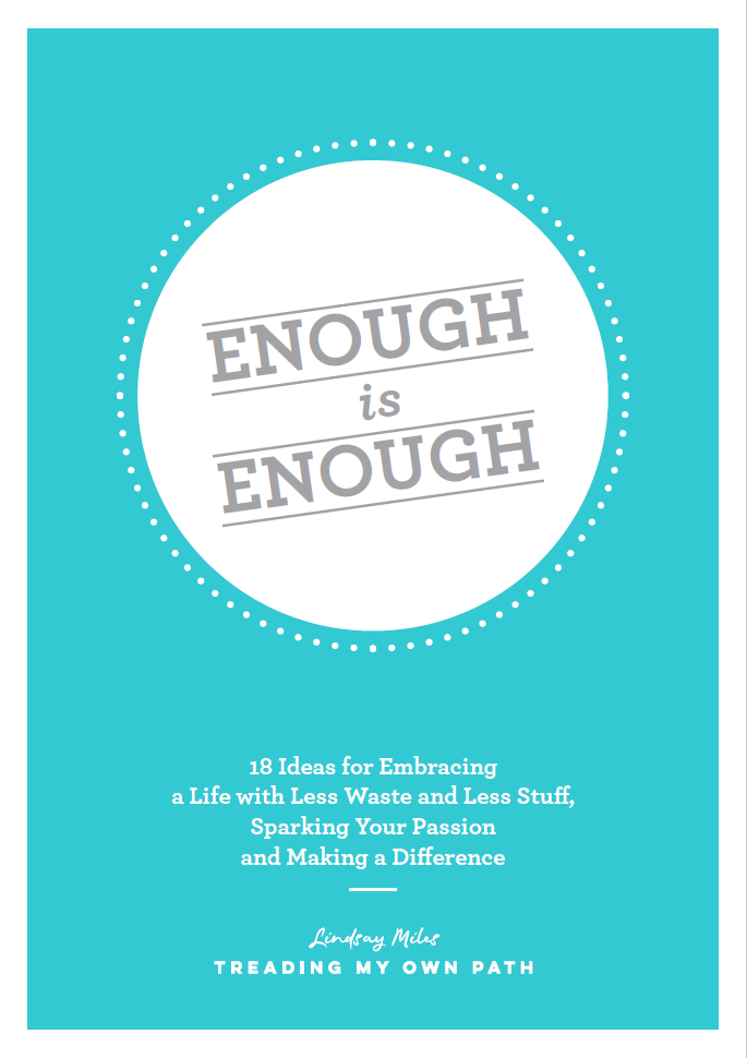 Enough is Enough Free ebook for Subscribers front cover