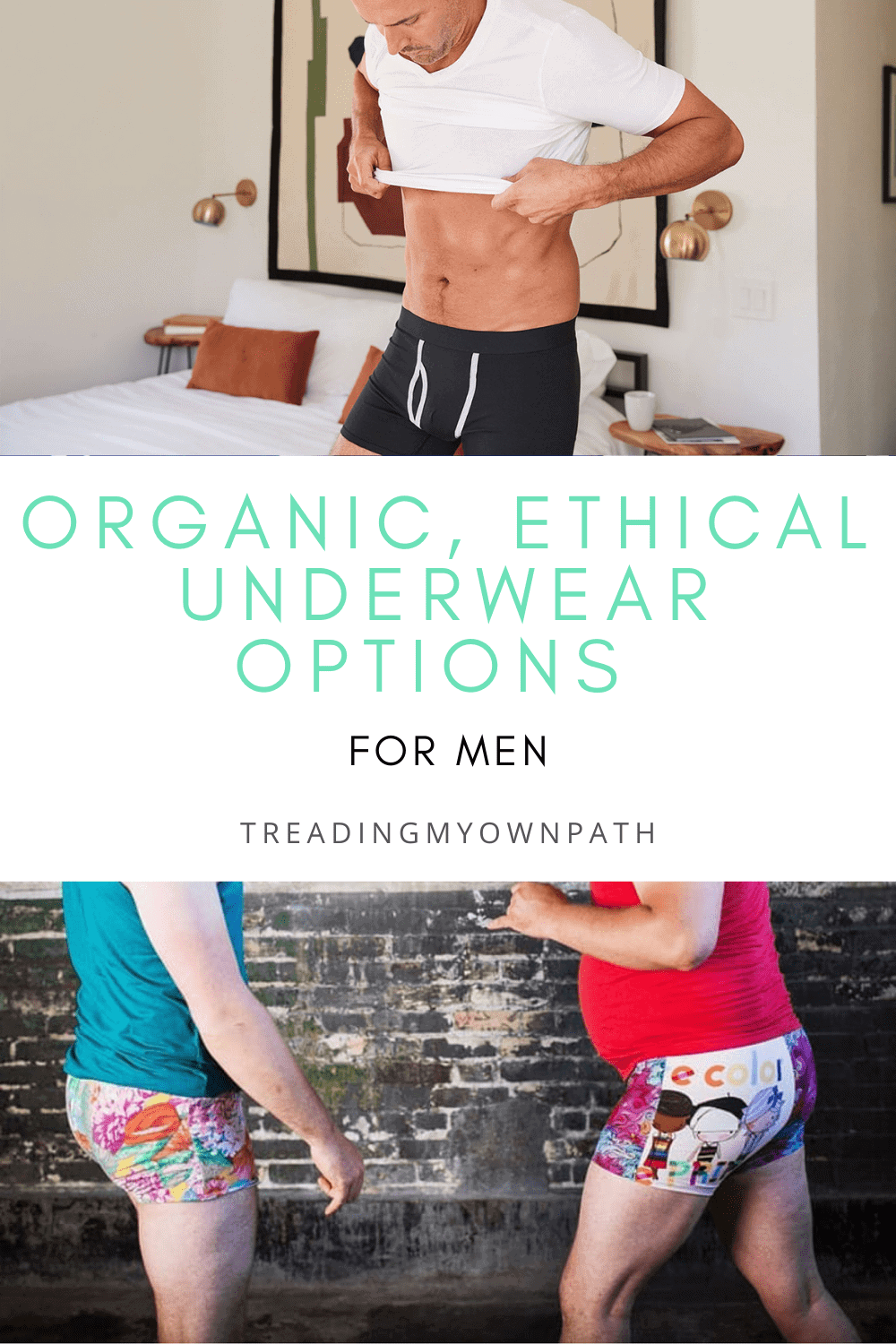 A guide to men\'s ethical + organic underwear
